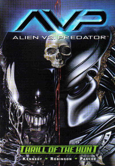 Cover for Alien vs. Predator: Thrill of the Hunt (Dark Horse, 2004 series)