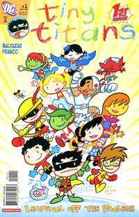 Cover Thumbnail for Tiny Titans (DC, 2008 series) #1
