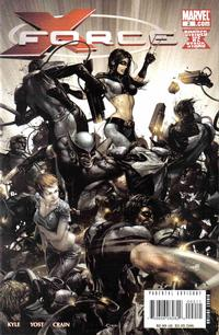 Cover Thumbnail for X-Force (Marvel, 2008 series) #2