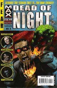 Cover Thumbnail for Dead of Night Featuring Man-Thing (Marvel, 2008 series) #4