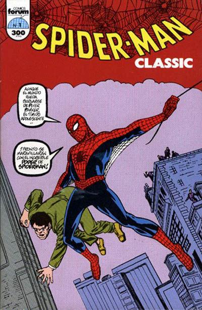 Cover for Spider-Man Classic (Planeta DeAgostini, 1993 series) #1