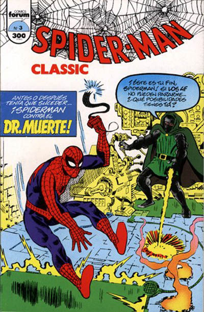 Cover for Spider-Man Classic (Planeta DeAgostini, 1993 series) #3