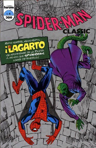 Cover for Spider-Man Classic (Planeta DeAgostini, 1993 series) #4