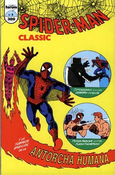 Cover for Spider-Man Classic (Planeta DeAgostini, 1993 series) #5