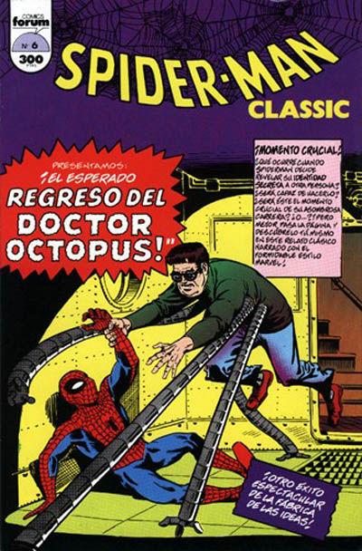 Cover for Spider-Man Classic (Planeta DeAgostini, 1993 series) #6