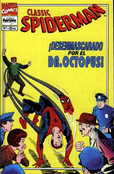 Cover for Spider-Man Classic (Planeta DeAgostini, 1993 series) #7