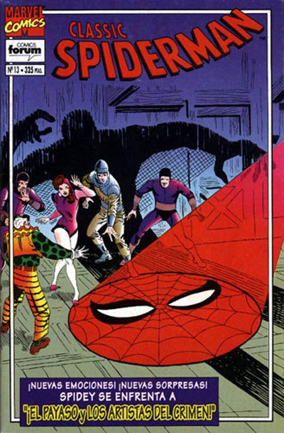 Cover for Spider-Man Classic (Planeta DeAgostini, 1993 series) #13