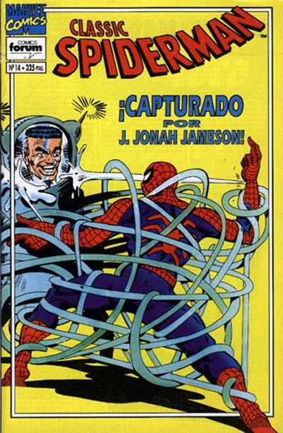 Cover for Spider-Man Classic (Planeta DeAgostini, 1993 series) #14