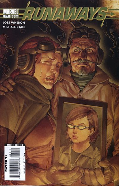 Cover for Runaways (Marvel, 2005 series) #29