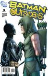 Cover for Batman and the Outsiders (DC, 2007 series) #4