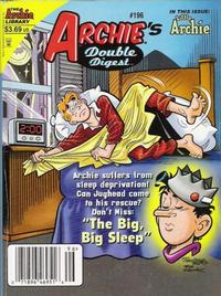 Cover Thumbnail for Archie's Double Digest Magazine (Archie, 1984 series) #196