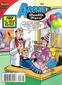 Cover Thumbnail for Archie's Double Digest Magazine (Archie, 1984 series) #207