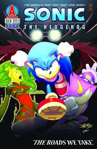 Cover Thumbnail for Sonic the Hedgehog (Archie, 1993 series) #212
