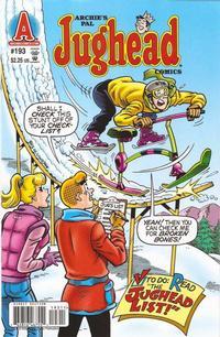 Cover Thumbnail for Archie's Pal Jughead Comics (Archie, 1993 series) #193