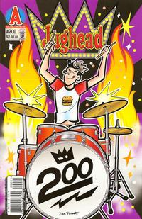 Cover Thumbnail for Archie's Pal Jughead Comics (Archie, 1993 series) #200 [Direct Edition]