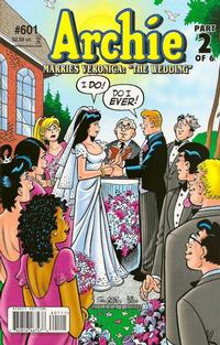 Cover Thumbnail for Archie (Archie, 1959 series) #601