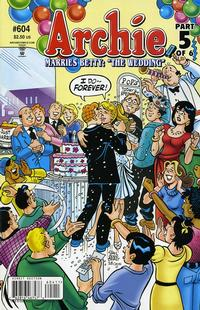 Cover Thumbnail for Archie (Archie, 1959 series) #604