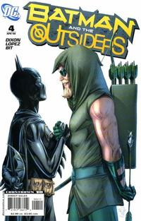 Cover Thumbnail for Batman and the Outsiders (DC, 2007 series) #4