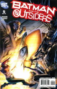 Cover Thumbnail for Batman and the Outsiders (DC, 2007 series) #5