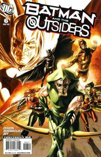 Cover Thumbnail for Batman and the Outsiders (DC, 2007 series) #6