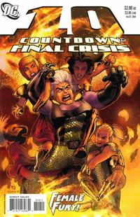 Cover for Countdown (DC, 2007 series) #10