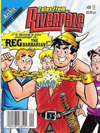 Cover for Tales from Riverdale Digest (Archie, 2005 series) #29