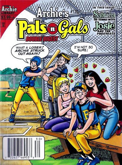 Cover for Archie's Pals 'n' Gals Double Digest Magazine (Archie, 1992 series) #130