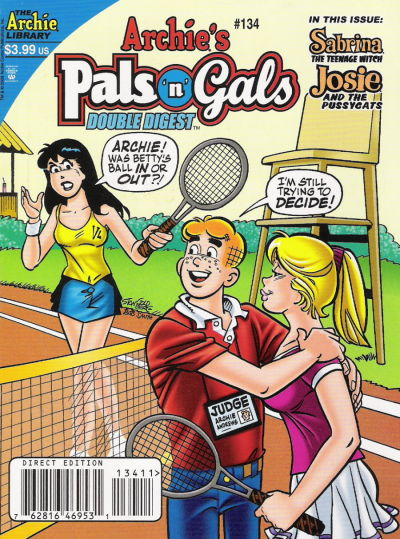 Cover for Archie's Pals 'n' Gals Double Digest Magazine (Archie, 1992 series) #134