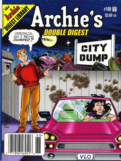 Cover for Archie's Double Digest Magazine (Archie, 1984 series) #188