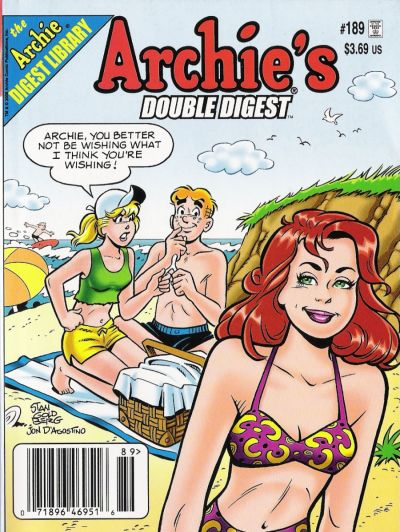 Cover for Archie's Double Digest Magazine (Archie, 1984 series) #189
