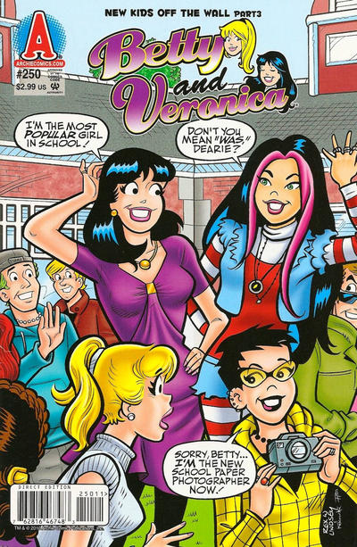 Cover for Betty and Veronica (Archie, 1987 series) #250