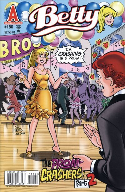 Cover for Betty (Archie, 1992 series) #180