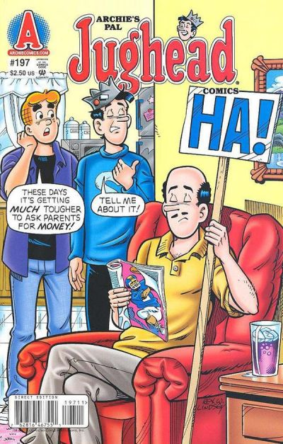 Cover for Archie's Pal Jughead Comics (Archie, 1993 series) #197