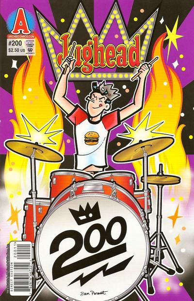 Cover for Archie's Pal Jughead Comics (Archie, 1993 series) #200 [Direct Edition]