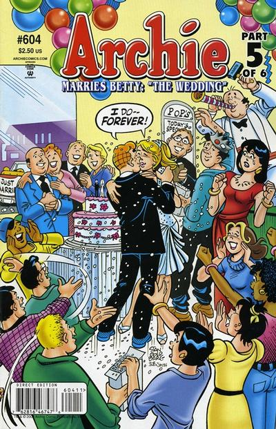 Cover for Archie (Archie, 1959 series) #604