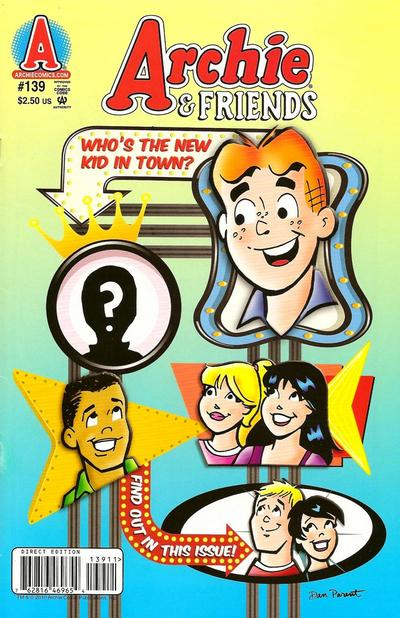 Cover for Archie & Friends (Archie, 1992 series) #139