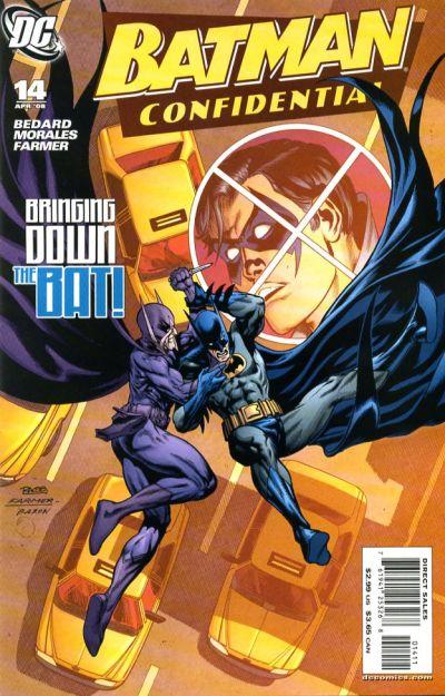 Cover for Batman Confidential (DC, 2007 series) #14