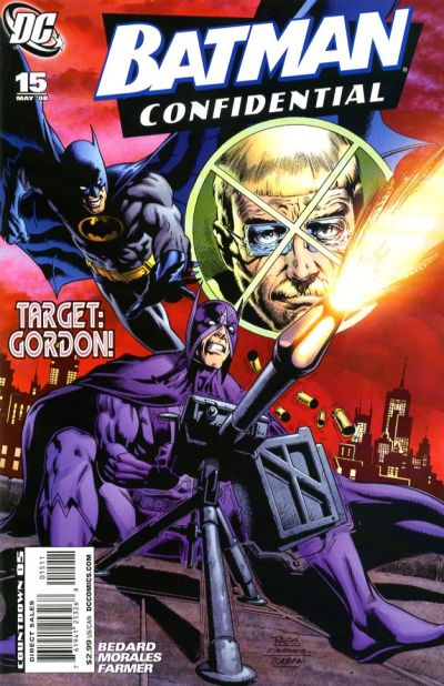 Cover for Batman Confidential (DC, 2007 series) #15