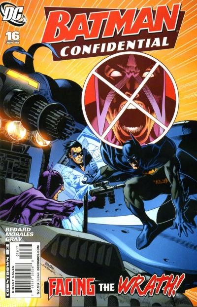 Cover for Batman Confidential (DC, 2007 series) #16