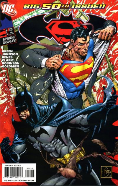 Cover for Superman / Batman (DC, 2003 series) #50 [Ethan Van Sciver Cover]