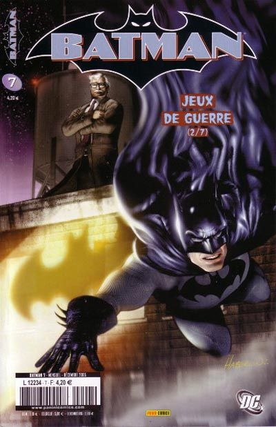 Cover for Batman (Panini France, 2005 series) #7
