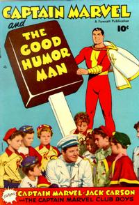 Cover Thumbnail for Captain Marvel and the Good Humor Man (Fawcett, 1950 series)