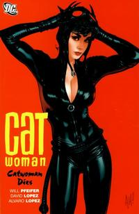 Cover Thumbnail for Catwoman: Catwoman Dies (DC, 2008 series)