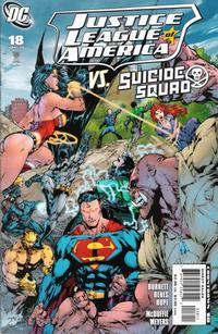 Cover Thumbnail for Justice League of America (DC, 2006 series) #18