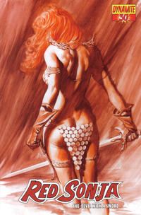 Cover Thumbnail for Red Sonja (Dynamite Entertainment, 2005 series) #30 [Alex Ross Cover]