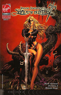 Cover Thumbnail for Shadow Hunter (Virgin, 2007 series) #1 [Mike Deodato Jr. Cover]