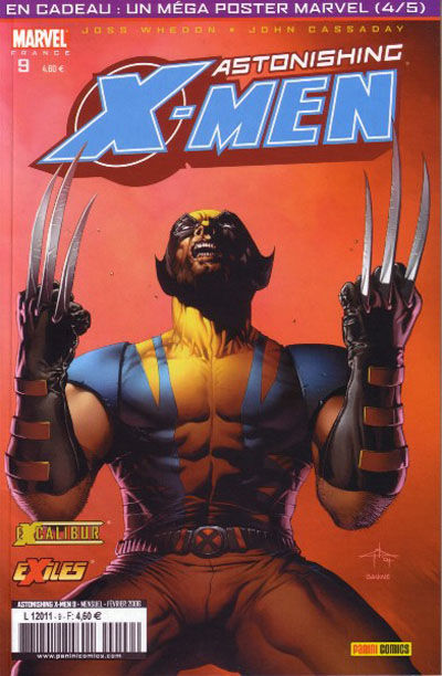 Cover for Astonishing X-Men (Panini France, 2005 series) #9