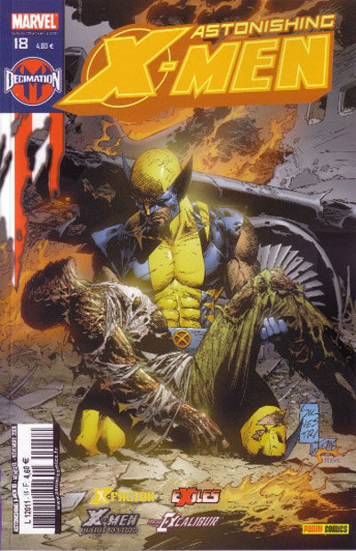 Cover for Astonishing X-Men (Panini France, 2005 series) #18