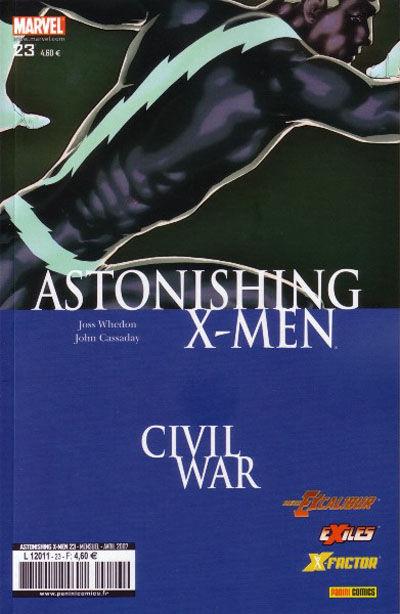 Cover for Astonishing X-Men (Panini France, 2005 series) #23