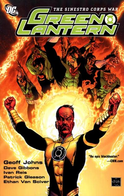 Cover for Green Lantern: The Sinestro Corps War (DC, 2008 series) #1
